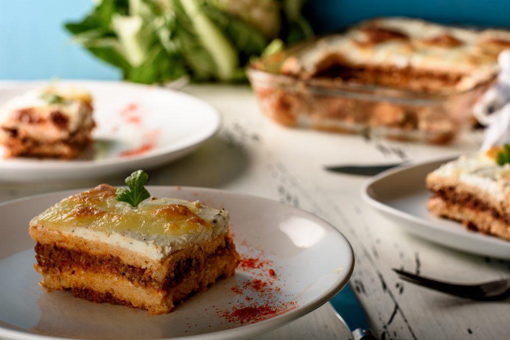 Lasagna With Cauliflower