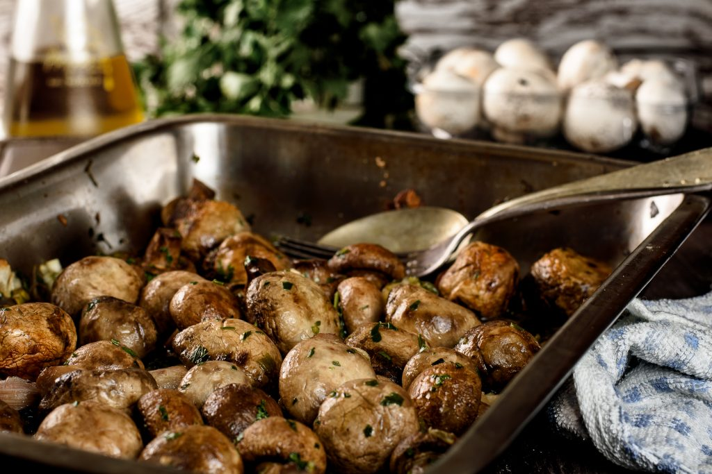 Roasted Mushrooms In The Oven