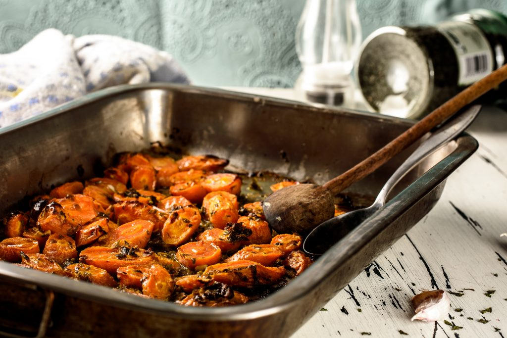 Roasted Carrots Oven